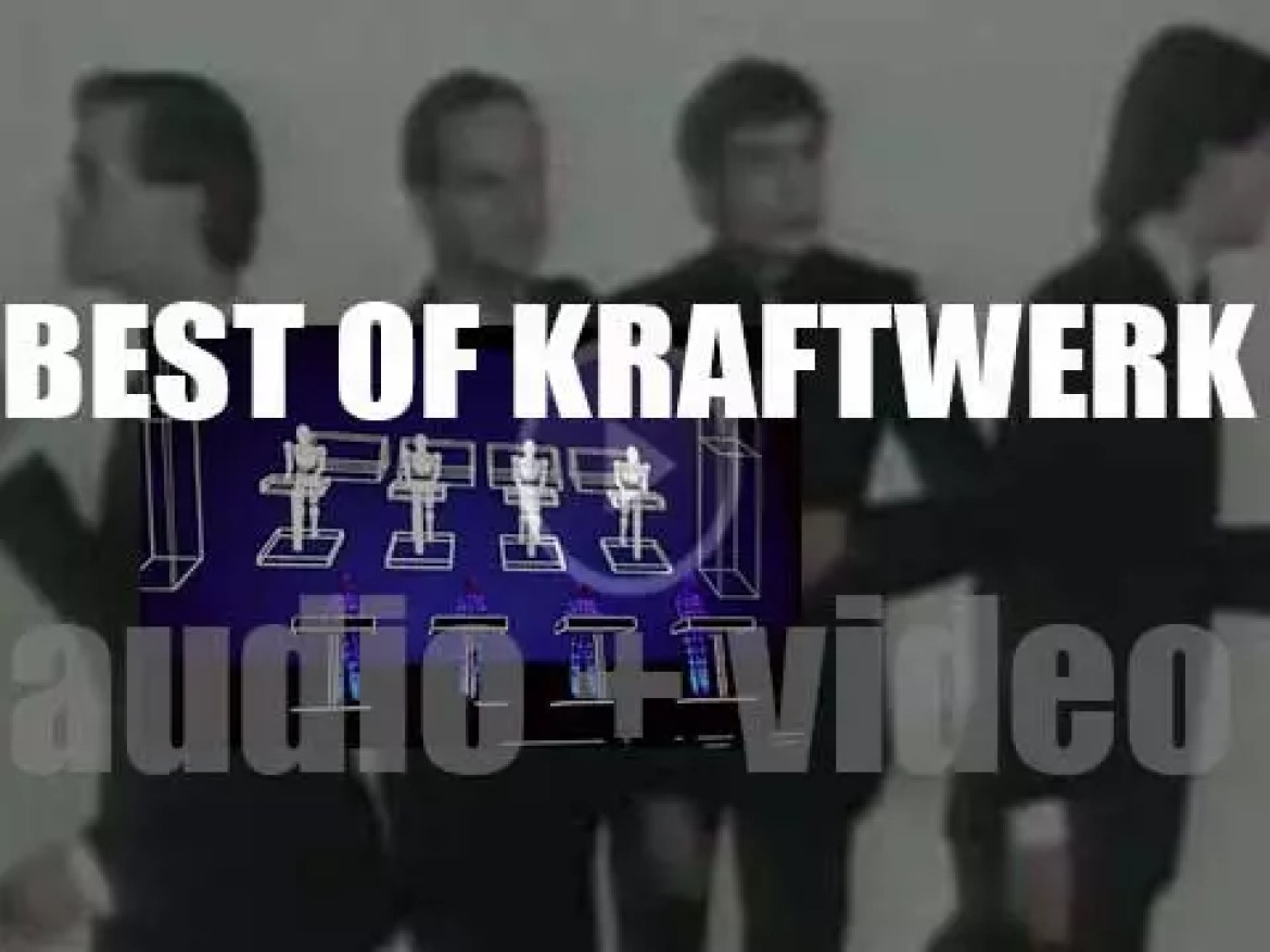 As we wish German singer and keyboardist Ralf Hütter a Happy Birthday, the day is perfect for a 'Kraftwerk At Their Best' post