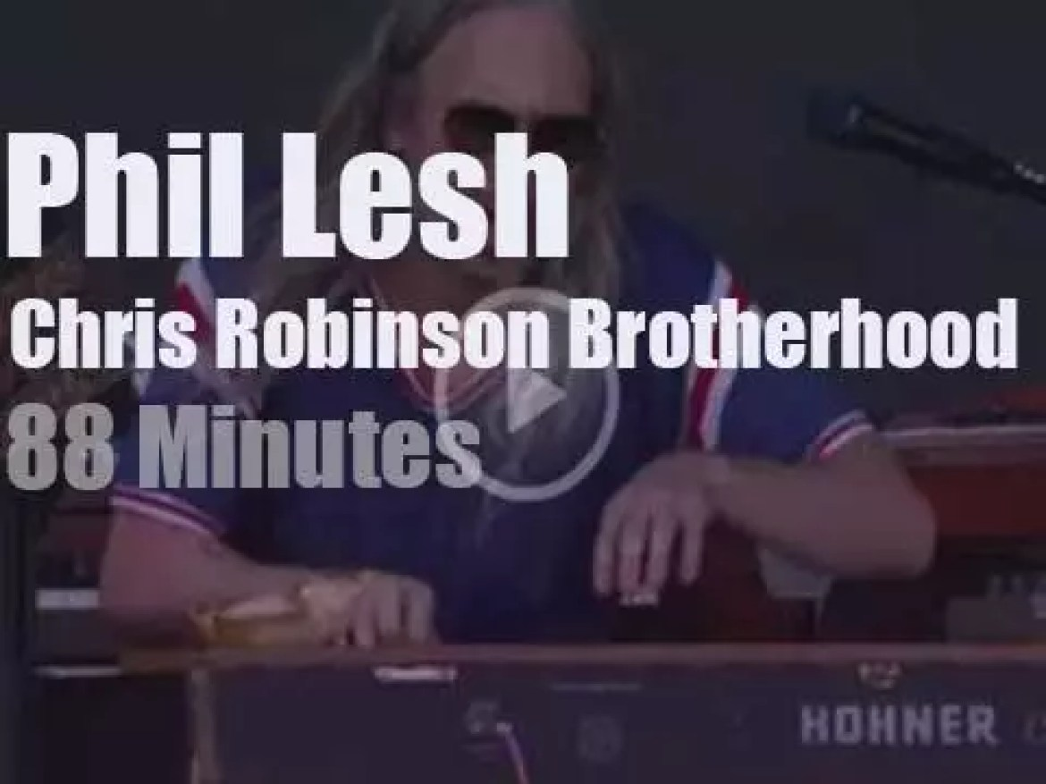 Phil Lesh meets Chris Robinson and others in Virginia  (2016)
