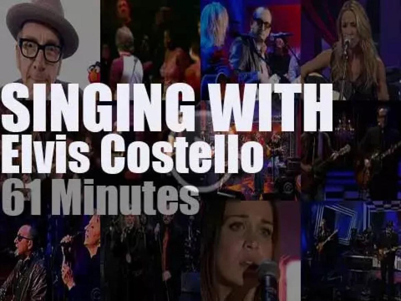 Singing With Elvis Costello