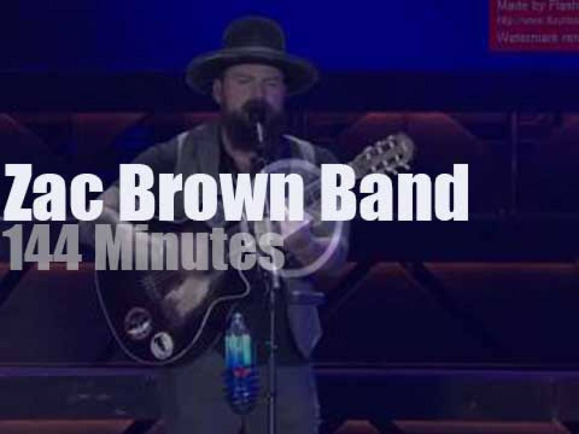 The Zac Brown Band performs in Chicago (2017)