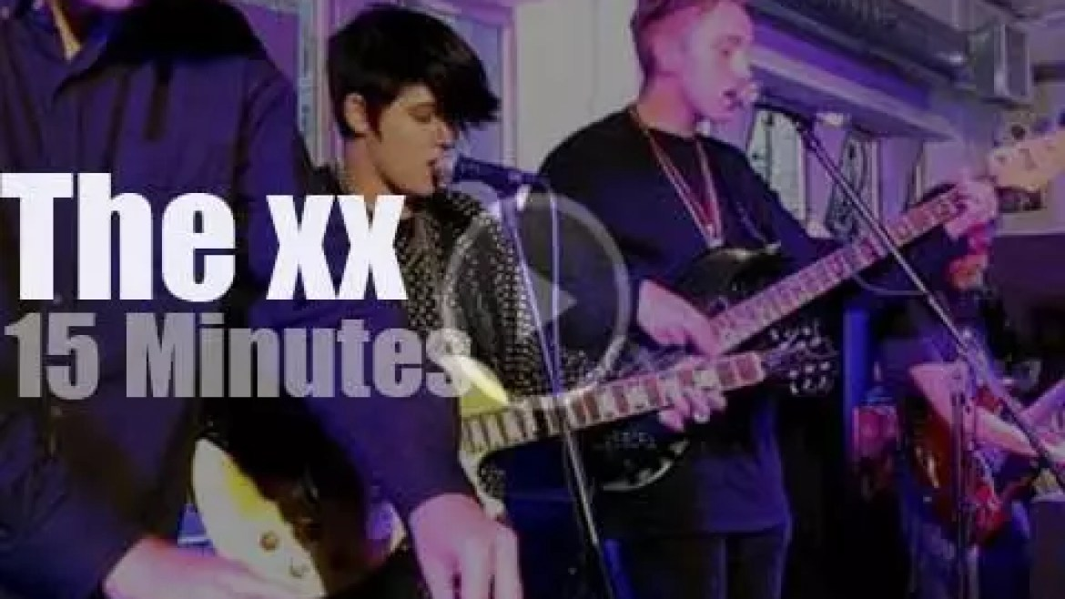 The xx rock a record store (2009)
