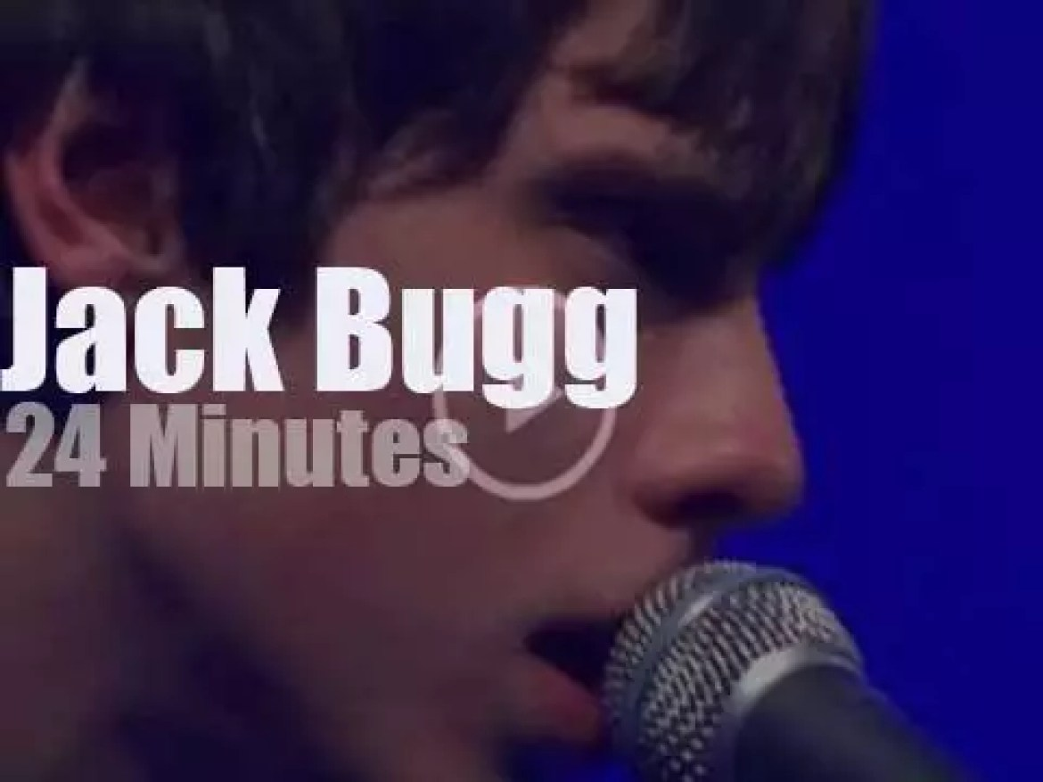 Jack Bugg plays and sings in London (2013)