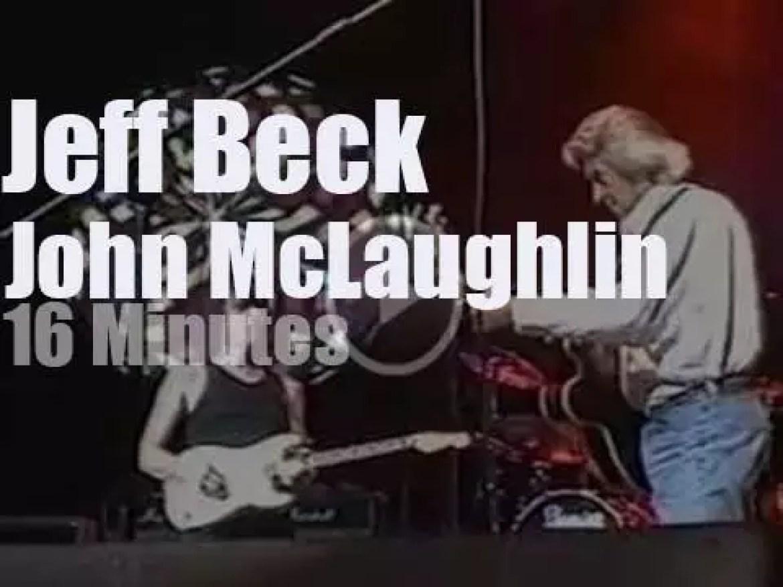 Jeff Beck meets John McLaughlin in London (2002)