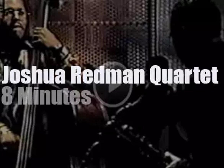 Joshua Redman Quartet tapes a TV show in New York (1997)