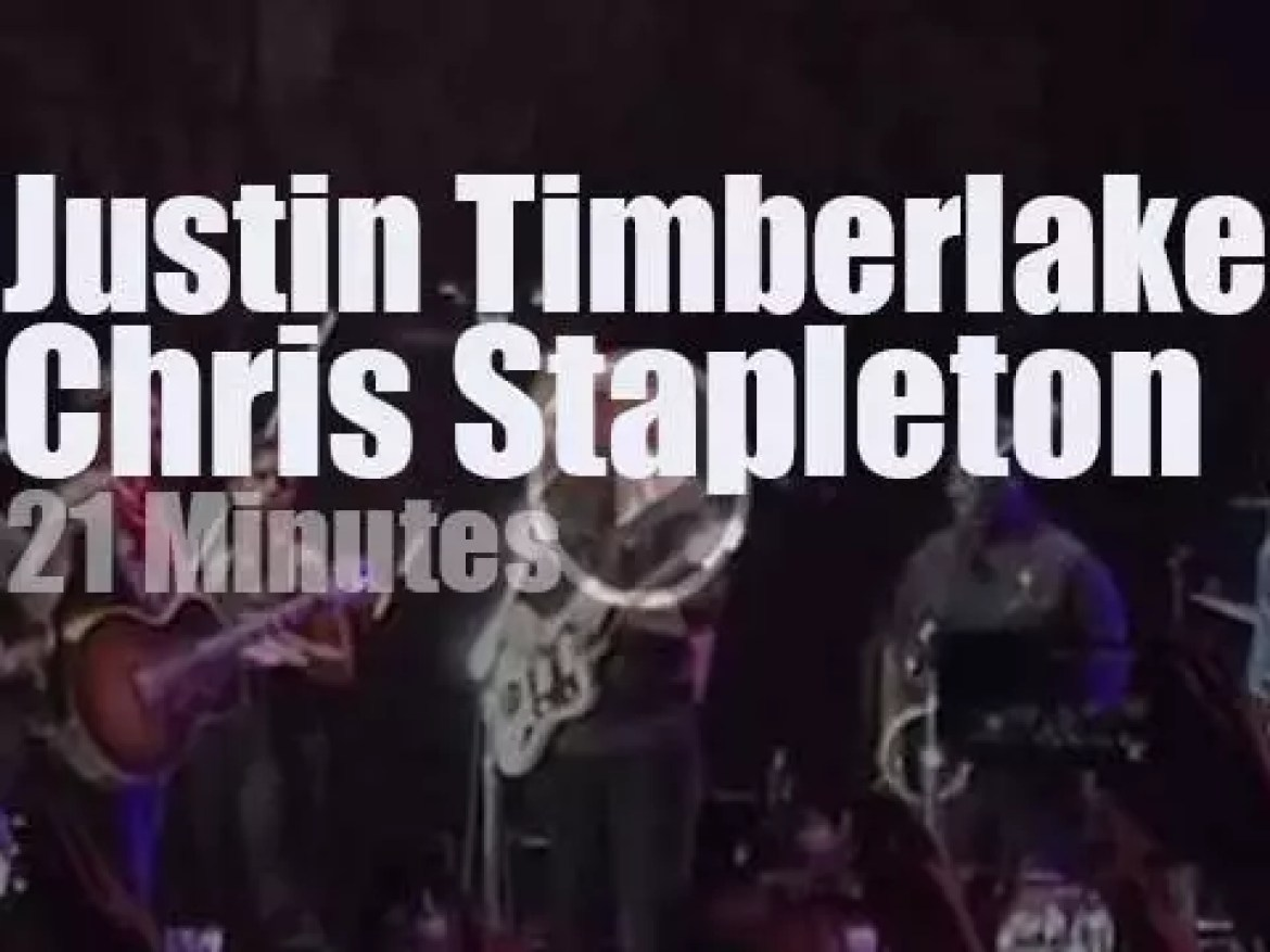 Justin Timberlake meets Chris Stapleton in Tennessee (2017)