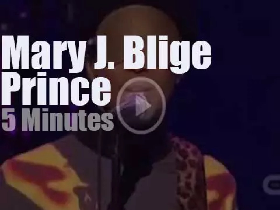 Mary J. Blige meets Prince (2012)