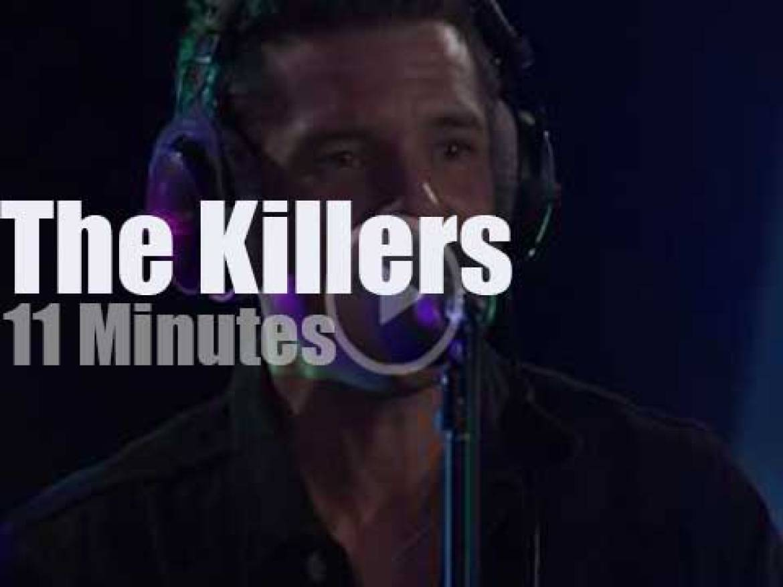 On English radio,  The Killers at BBC Radio 1 (2017)