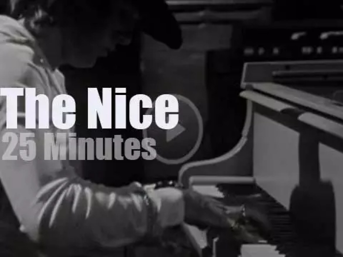 On Norwegian TV, The Nice with Keith Emerson (1969)