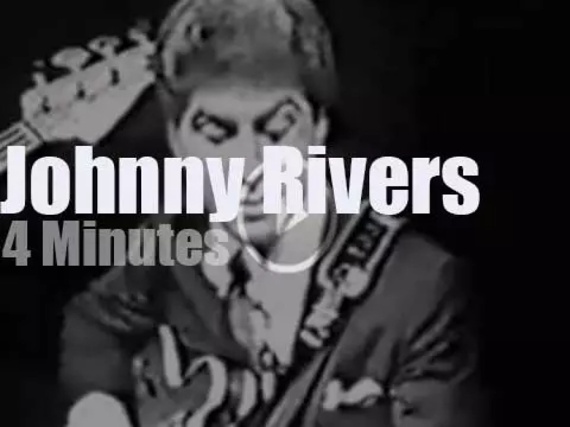 On TV today, Johnny Rivers at 'Shindig!' (1964)