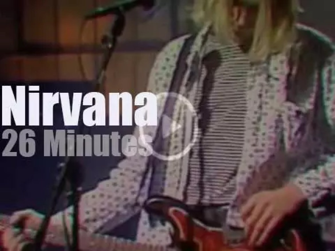 On TV today, Nirvana at 'SNL' (1993)