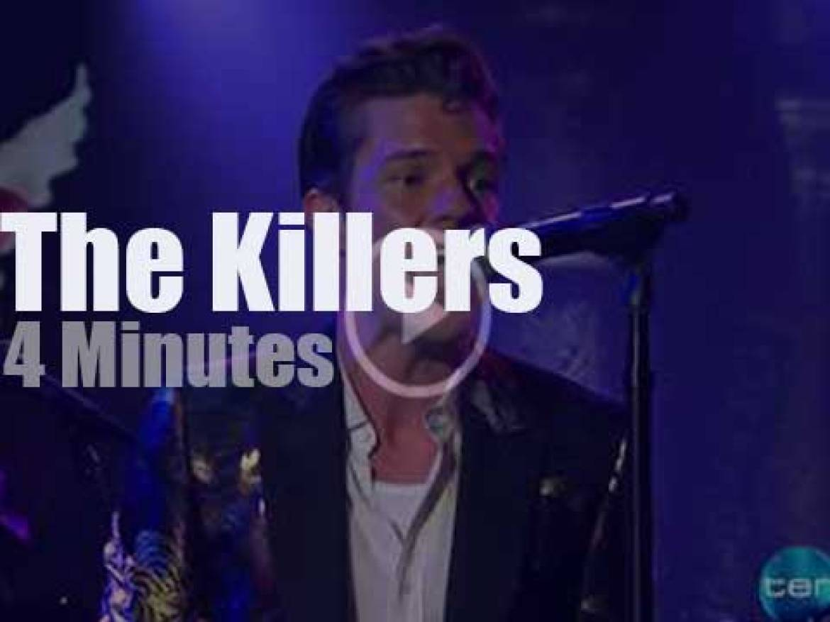 On TV today, The Killers with Stephen Colbert (2017)