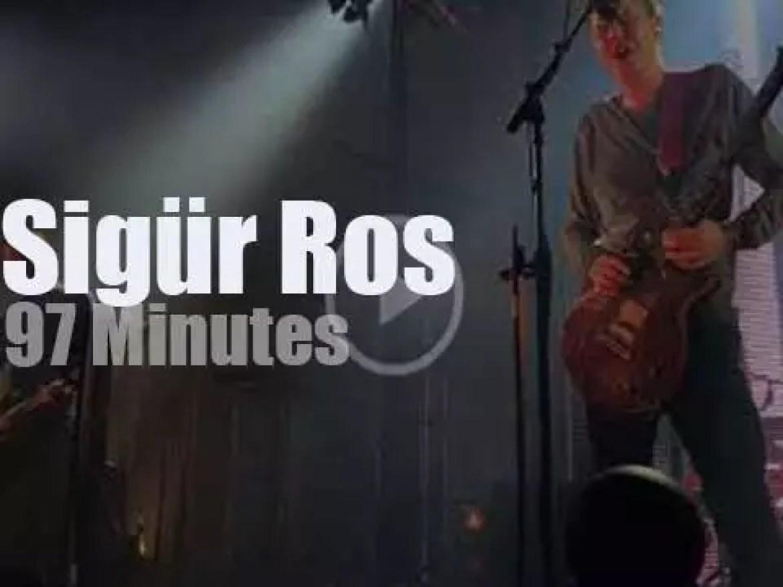 Sigür Ros spend three nights in Paris (2017)
