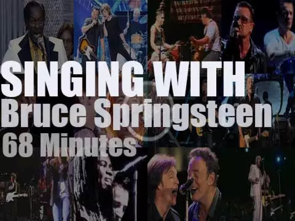 Singing With Bruce Springsteen
