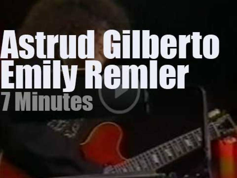 Astrud Gilberto and Emily Remler enchant Cork  (1983)