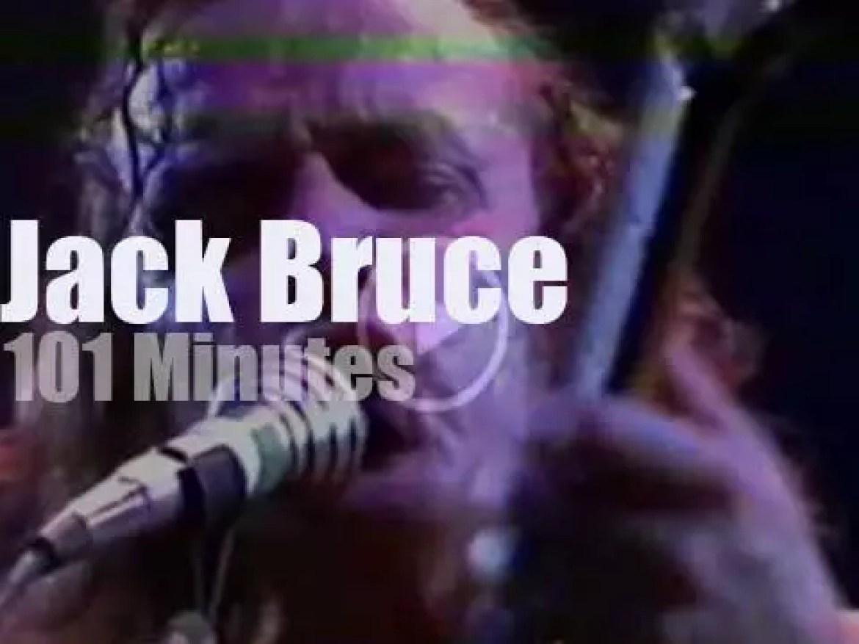 German TV tapes Jack Bruce, Billy Cobham et al (1980)