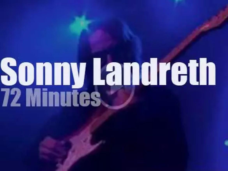 German TV tapes Sonny Landreth (2015)