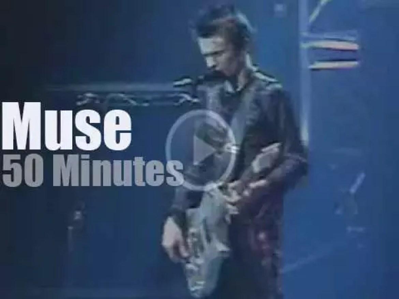 Muse visit Amsterdam (2001)