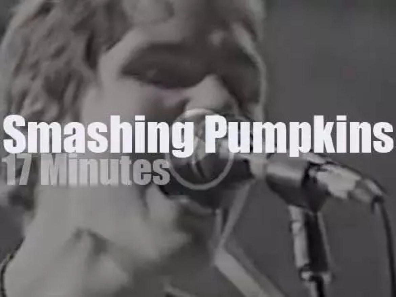 On TV today, Smashing Pumpkins at  MTV Europe (1993)