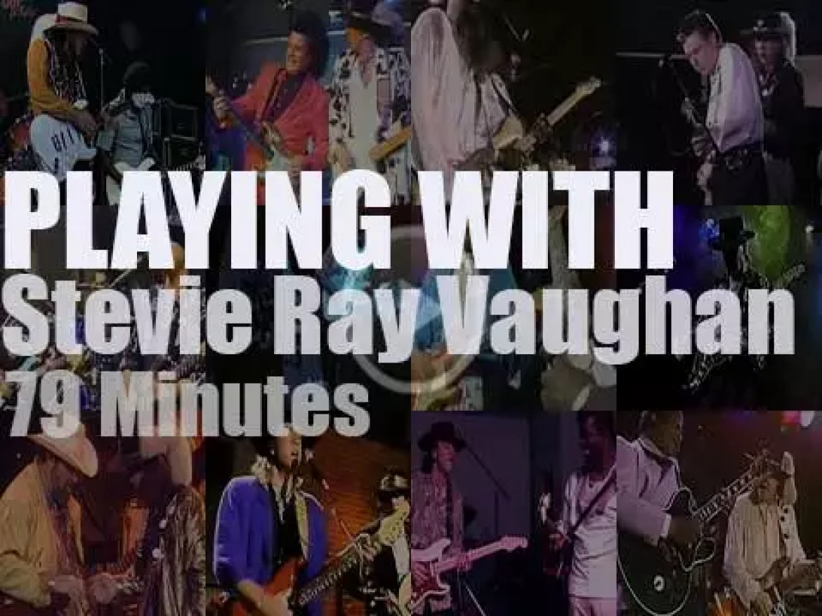 Singing & Playing With Stevie Ray Vaughan