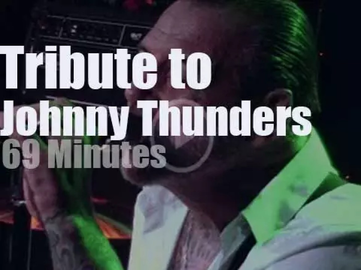 A supergroup pays tribute to Johnny Thunders (2017)