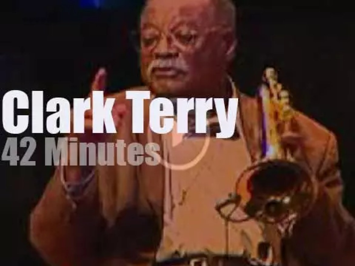 Clark Terry gives a Master Class (2004)