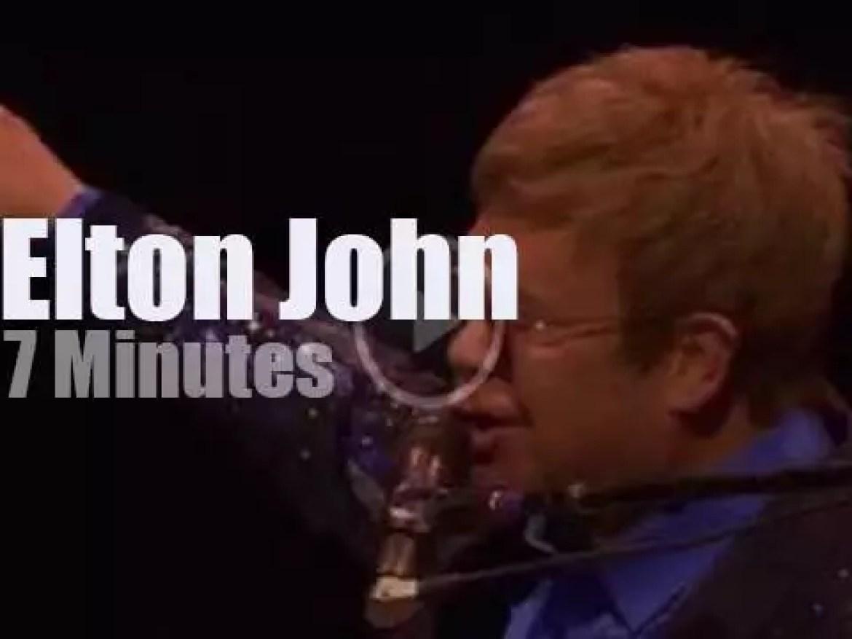 Elton John celebrates Jonah Lomu (2015)