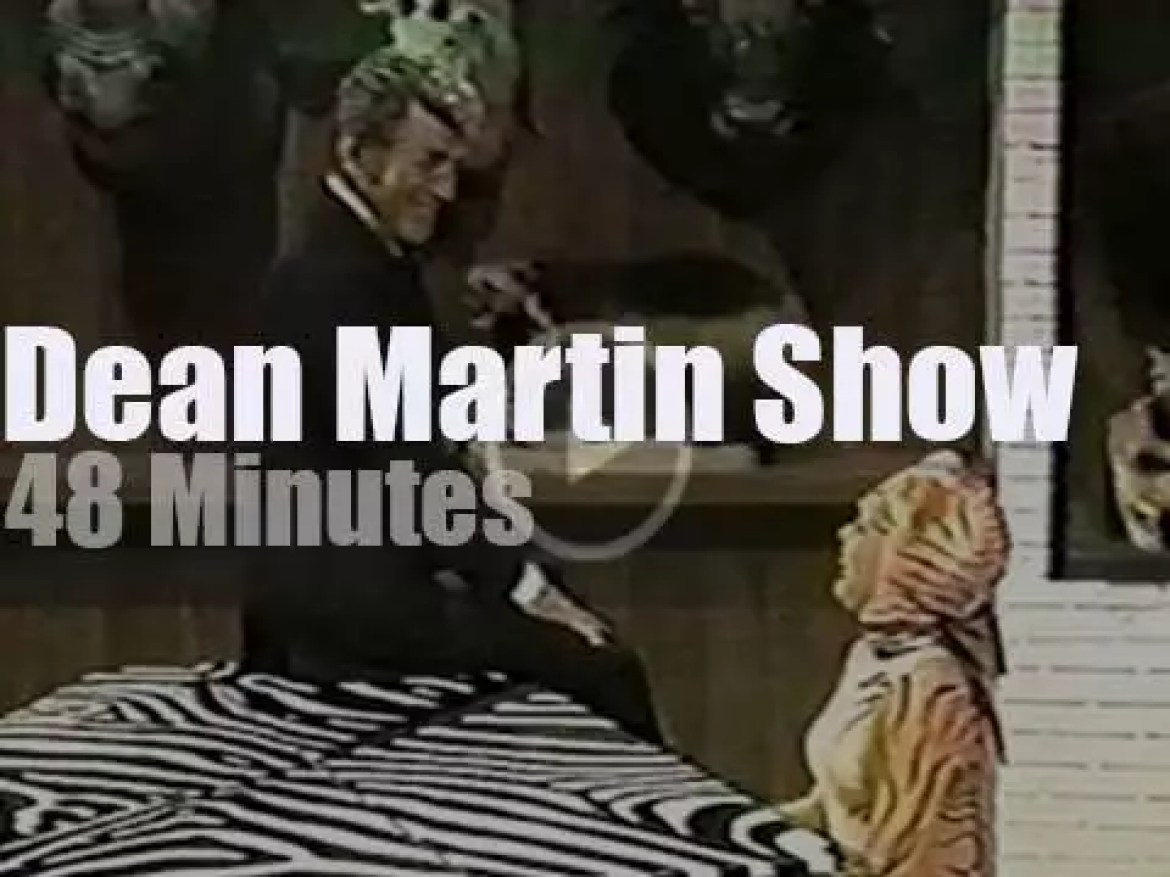 On TV today, 'The Dean Martin Show' (1972)