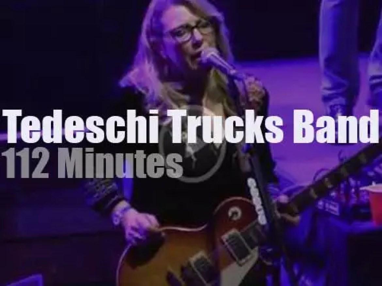 Tedeschi Trucks Band spend three nights in Boston (2016)