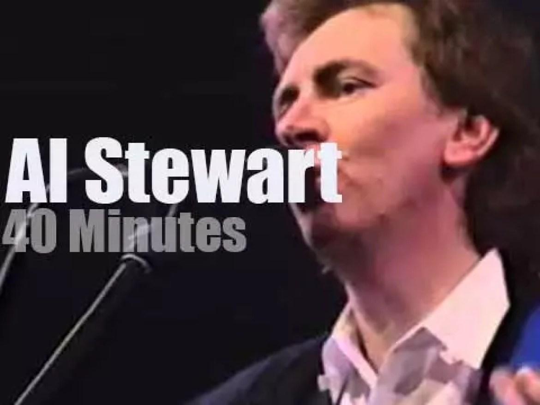 Al Stewart goes to the Belgian 'Proms' (1988)