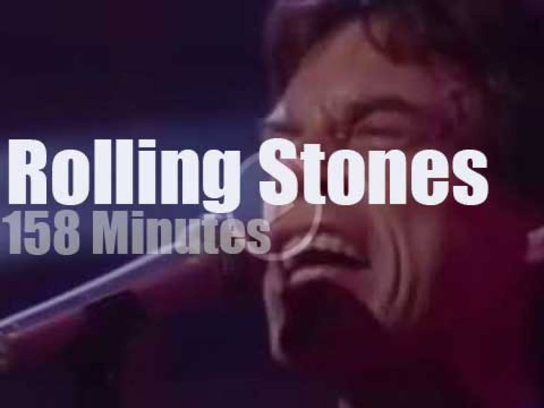 Axl, Eric et al sit in with the Stones (1989)