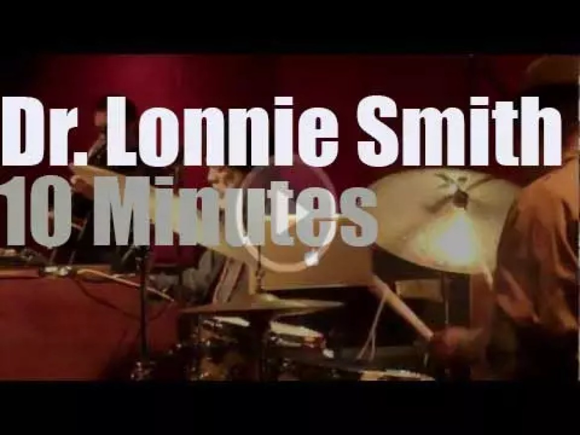 Dr. Lonnie Smith consults in New-York (2013)
