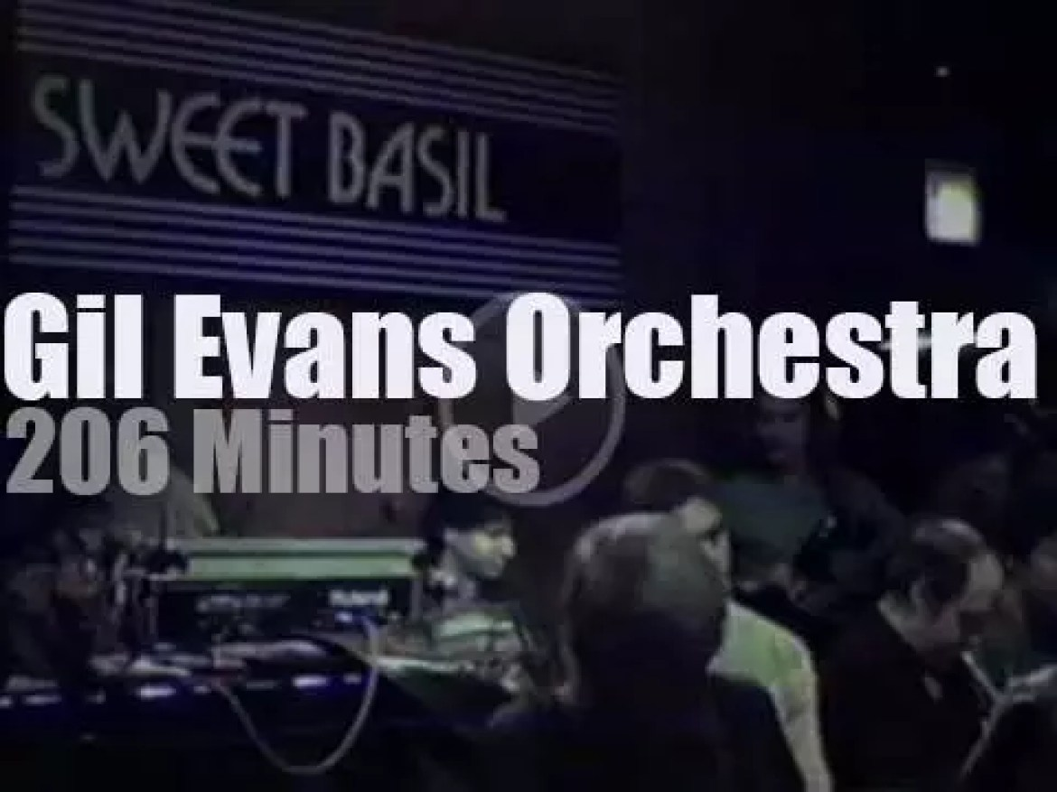Gil Evans brings his Orchestra to New-York (1988)