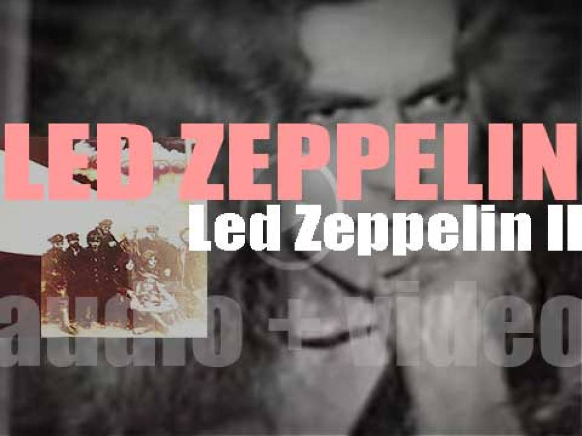 Atlantic Records publish 'Led Zeppelin II' their second album featuring 'Whole Lotta Love' (1969)