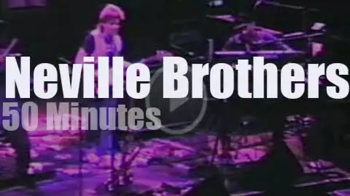 Neville Brothers open for The Dead (1985)
