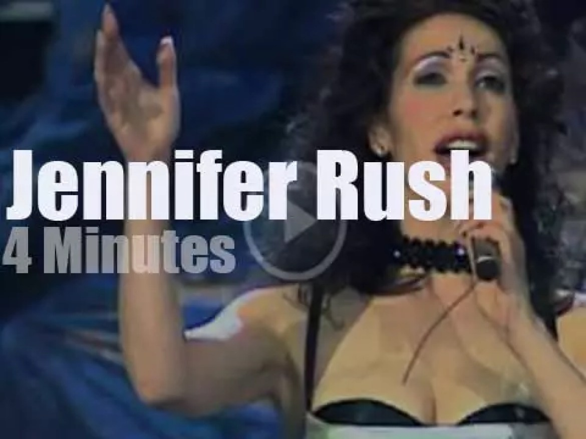 On TV today, Jennifer Rush revisits 'The Power of Love' (1998)