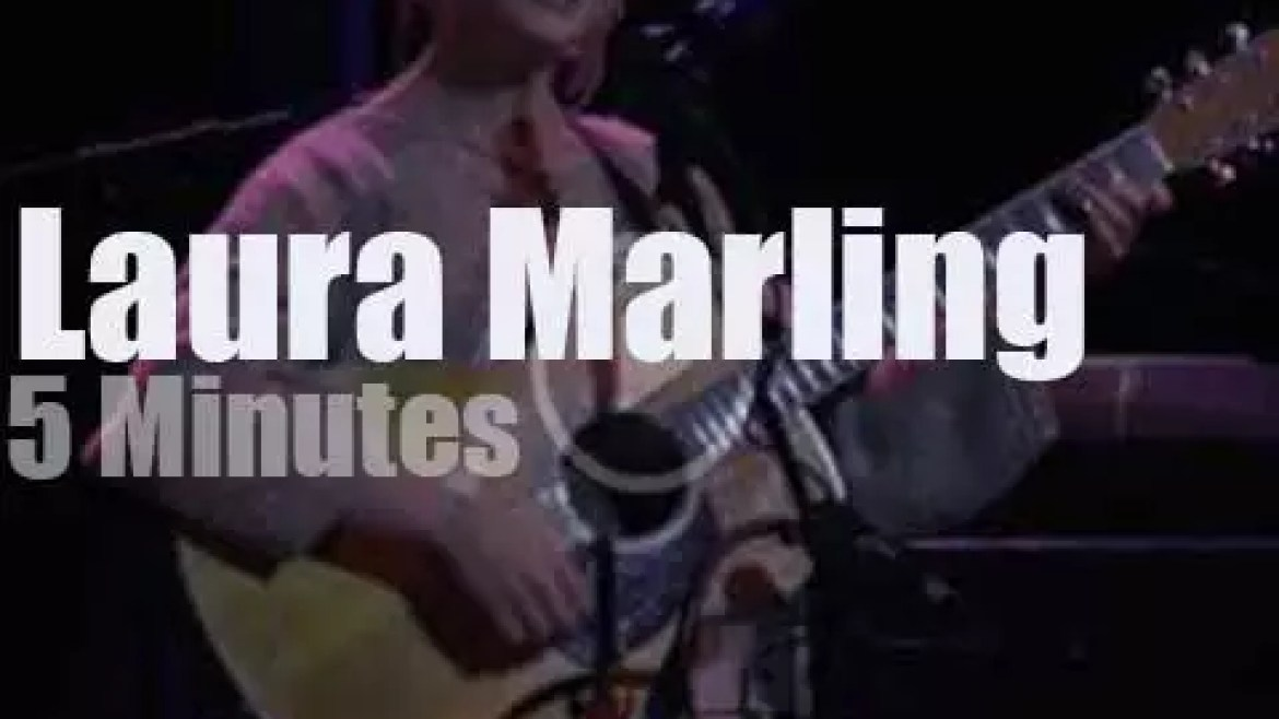On radio today, Laura Marling meets Chris Thile (2017)