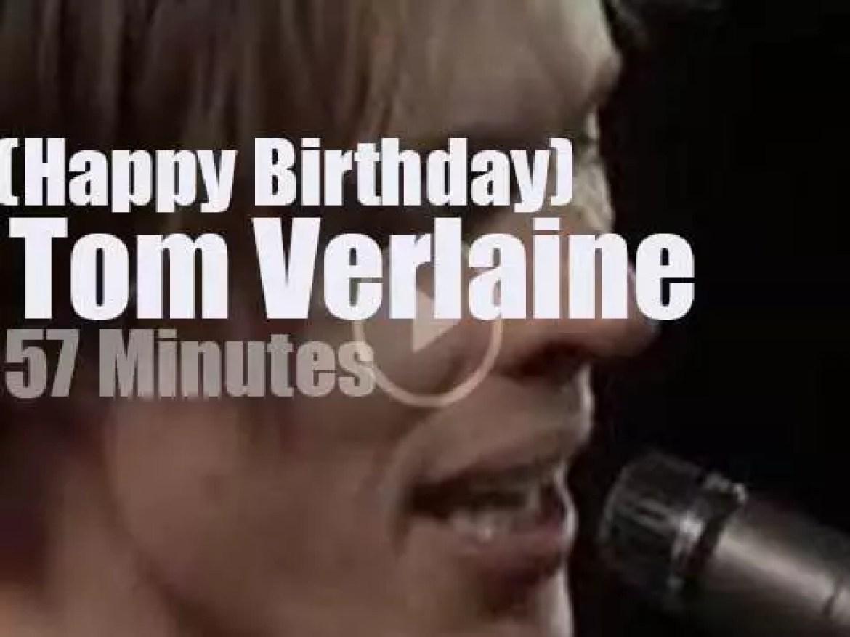 Happy Birthday Tom Verlaine