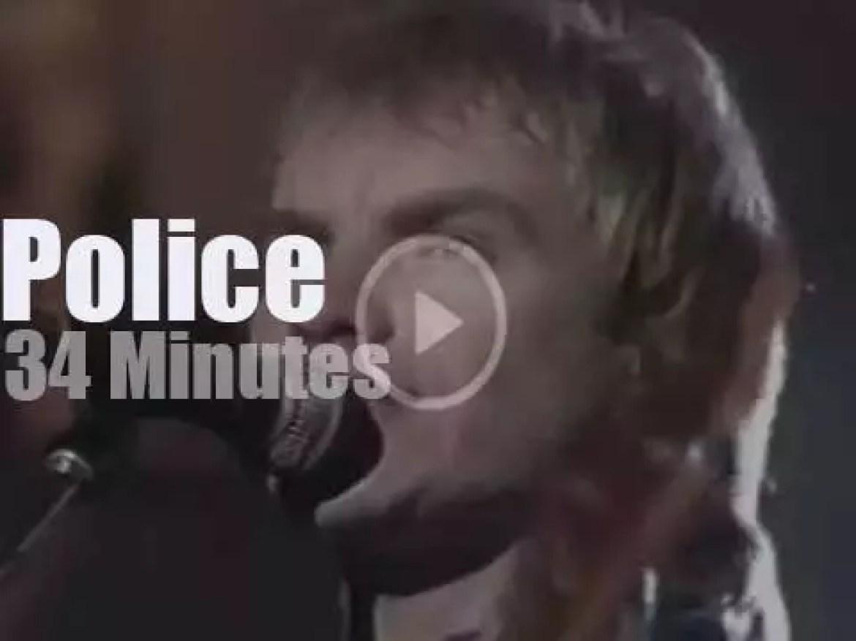 Don Kirshner tapes Police (1980)