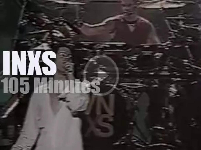 INXS visit Buenos Aires (1991)
