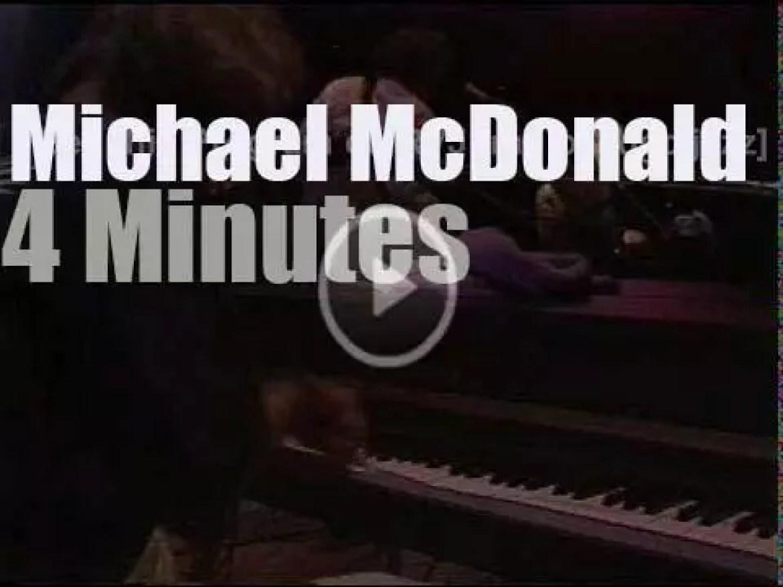 Michael McDonald sings in Tokyo (1986)
