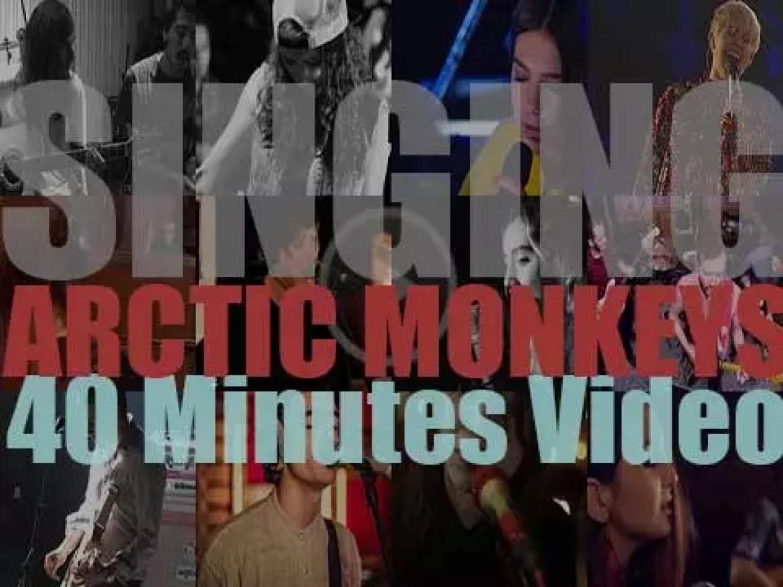 Singing  Arctic Monkeys