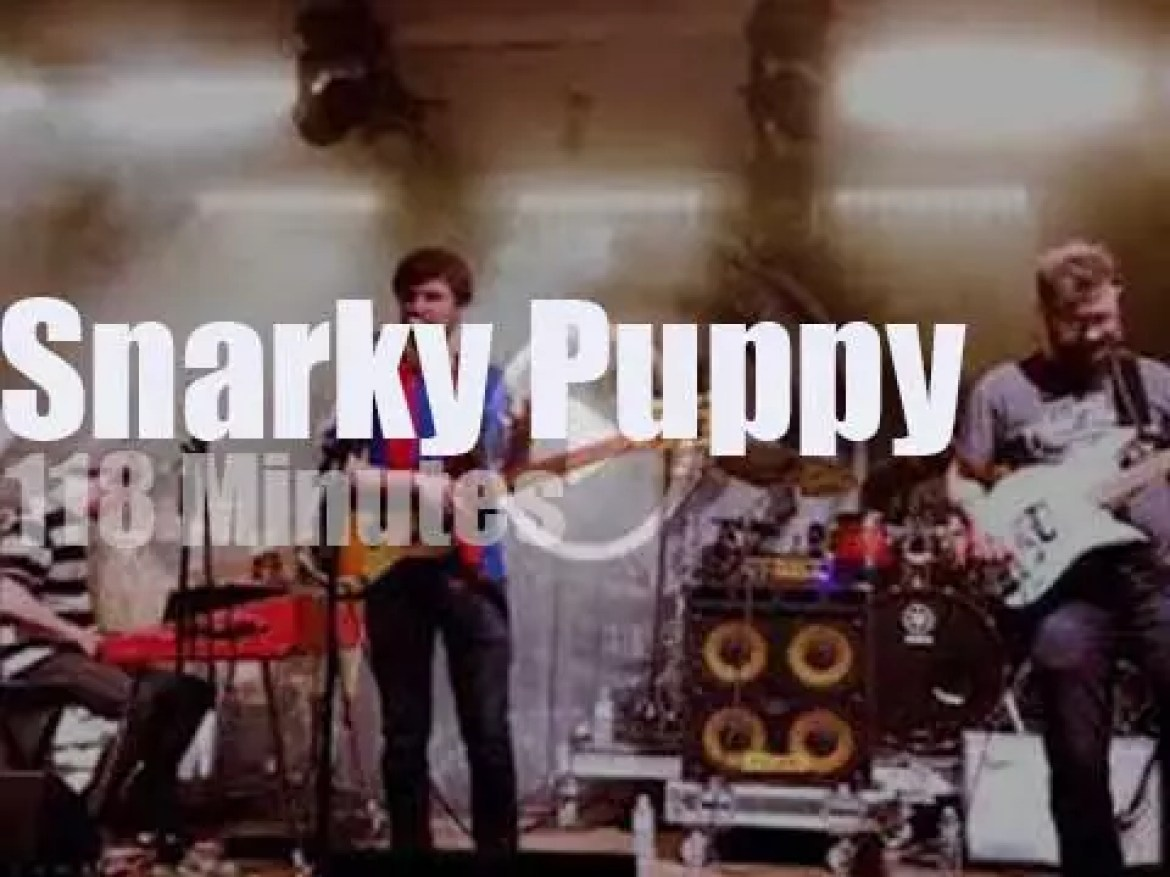 Snarky Puppy  open a festival in Florida (2018)