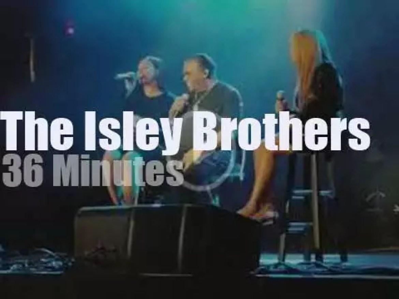 The Isley Brothers enchant North Carolina (2018)