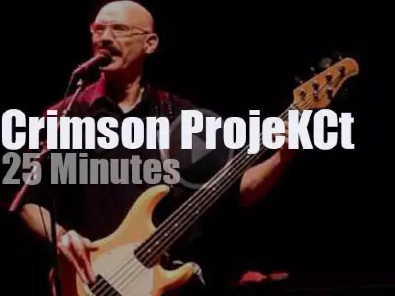 Adrian Belew, Tony Levin et al revisit King Crimson (2014)