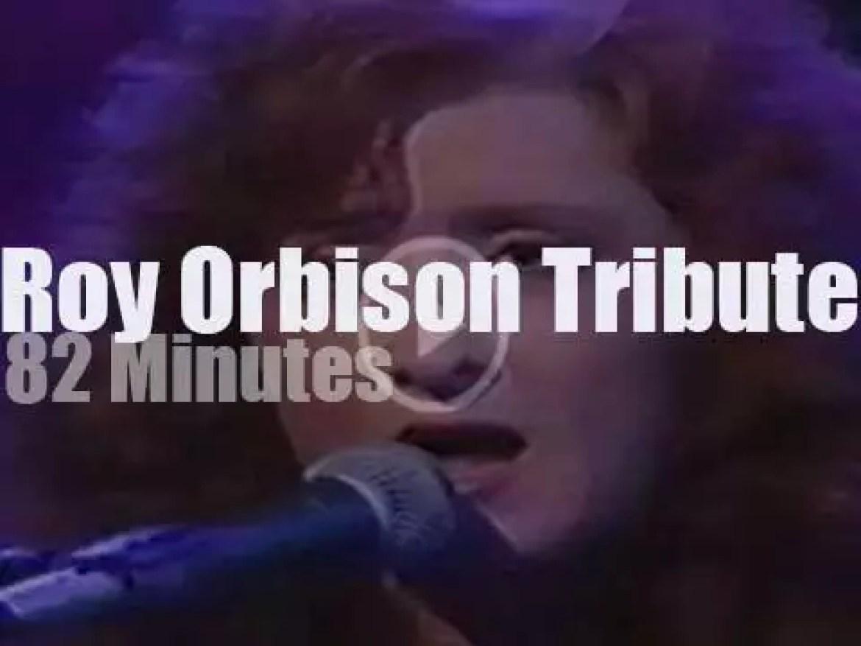 Bob, Levon, k.d., B.B. et al pay tribute to Roy Orbison (1990)