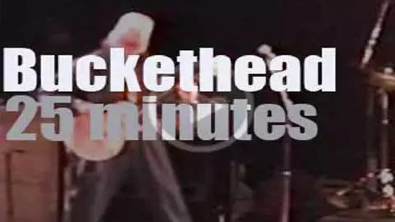 Buckethead takes Giant Robot to Santa Cruz (2004)