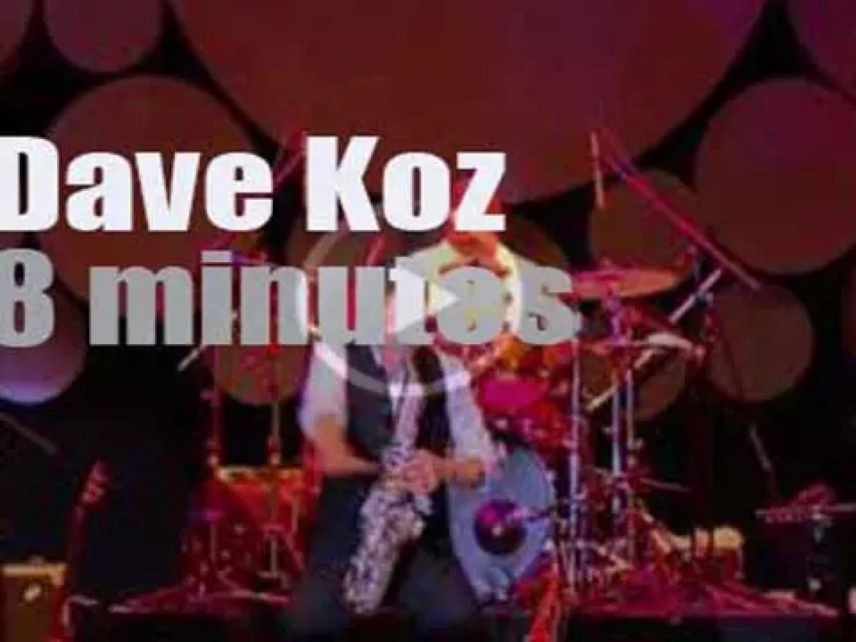 Dave Koz plays at the Java Jazz Festival in Jakarta (2012)