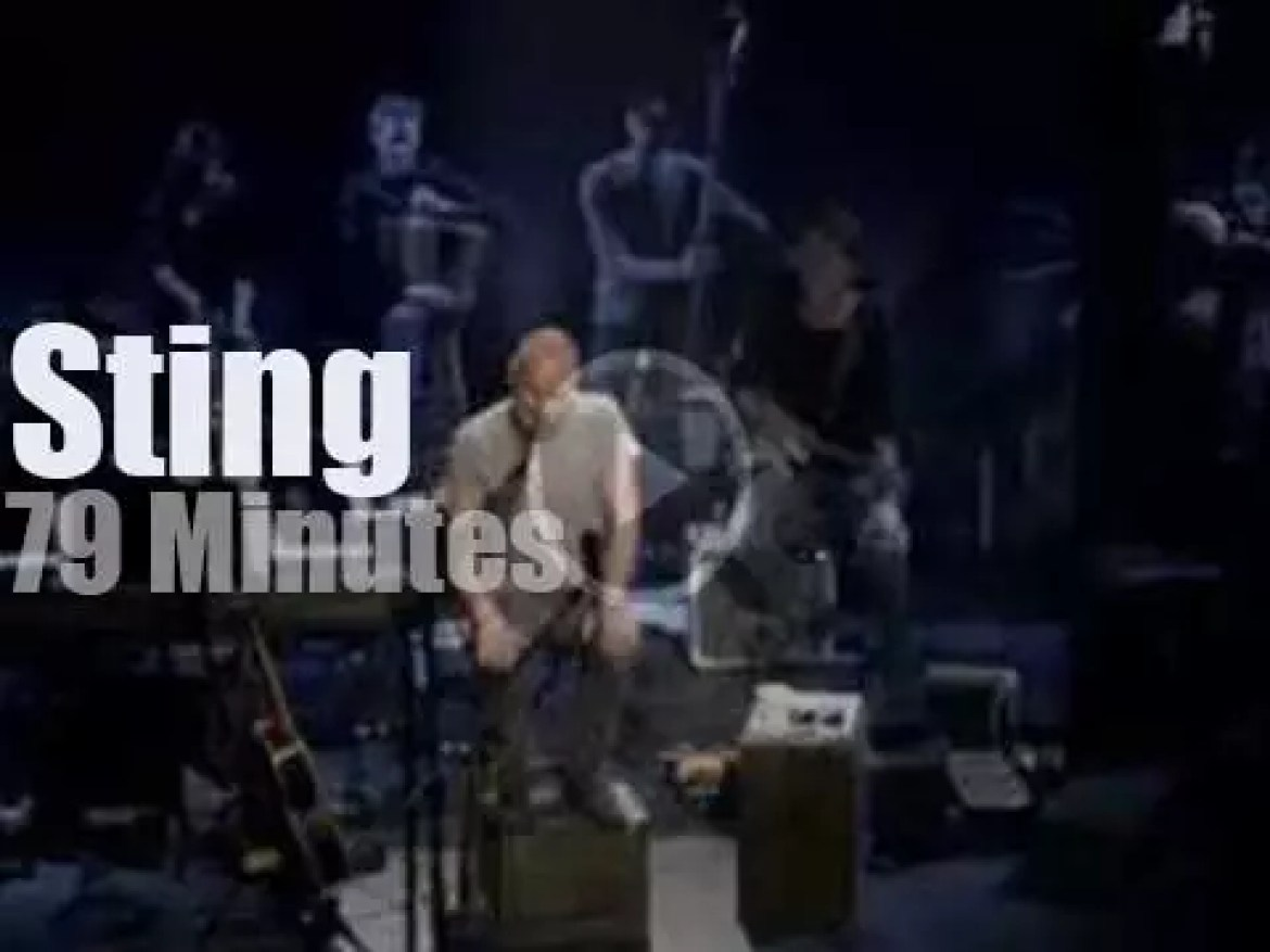 On TV today, Sting and The Last Ship at PBS (2014)