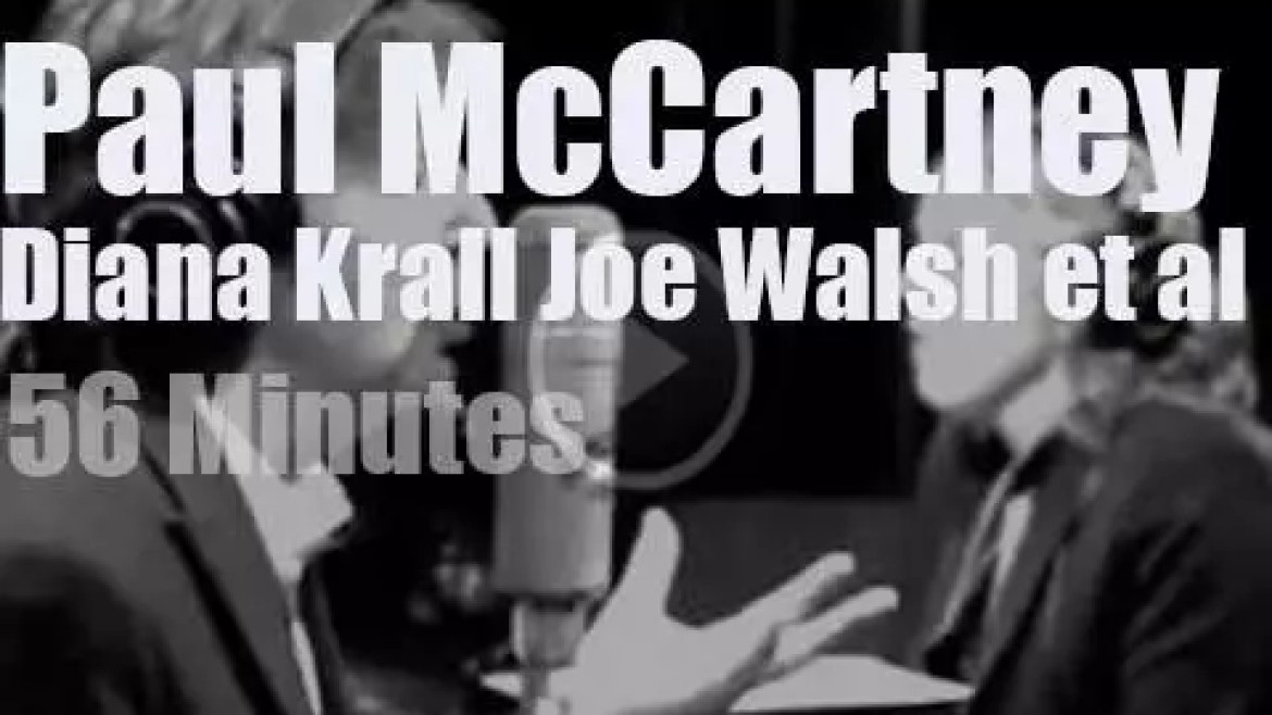 Diana Krall, Joe Walsh et al meet Paul McCartney (2012)