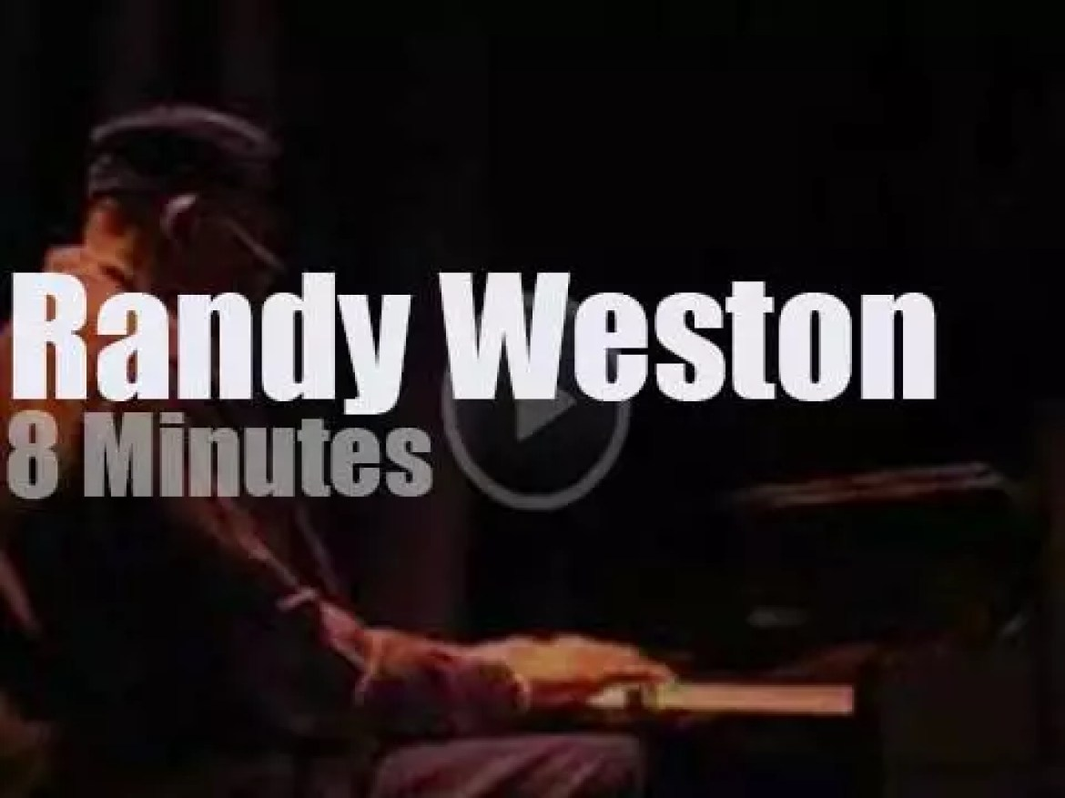 Randy Weston takes his African Rhythm Trio to Minneapolis (2008)